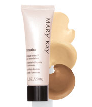 Get TimeWise Luminous-Wear Liquid Foundation with skin-loving jojoba from Mary Kay.