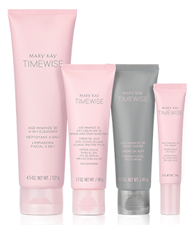 TimeWise Miracle Set 3D from Mary Kay standing against a white background.